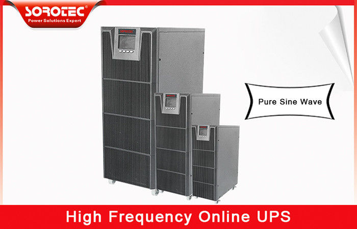 No Break 20kva 18kw 380vac uninterruptible power supplies , high frequency ups for Telecom